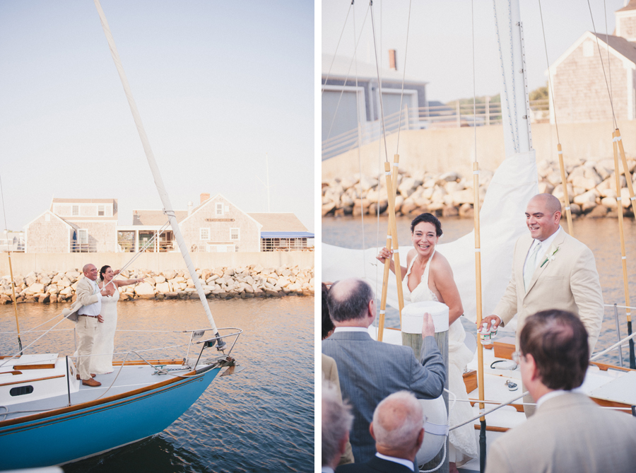 Sail Boat Wedding